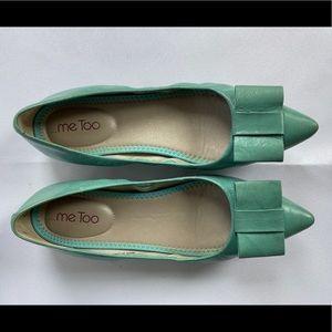 Aqua loafers